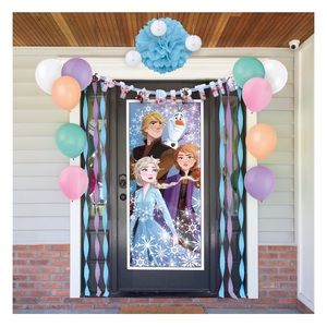 Other - Frozen virtual birthday party decorating kit